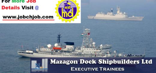 (MDL) Mazagon Dock Recruitment 2018   Executive Trainees though Gate