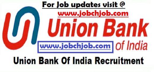 Union Bank of India Recruitment 2017 1