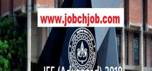 Joint Entrance Examination JEE Advanced 2018 Online Form 1