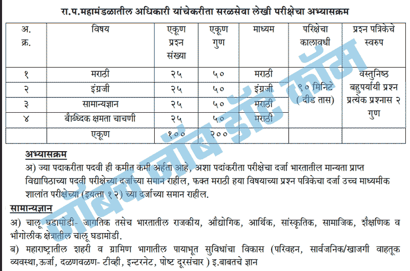 MSRTC Non Technical Recruitment 2018-19 | [msrtcexam.in] ST Mahamandal 3