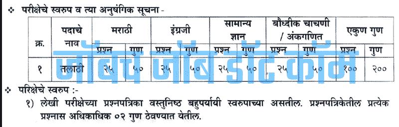 Maharashtra Talathi Bharti 2019 Online Form [Mahapariksha.gov.in]