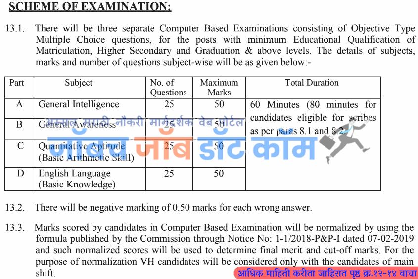 SSC Bharti 2020-21 | SSC Selection Recruitment 2020 [ssc.nic.in] 1